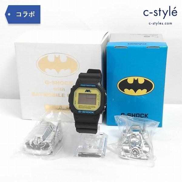 CASIO カシオ G-SHOCK with バットモービル BATMOBILE チョロQ 腕時計 バットマン