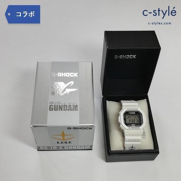 CASIO カシオ G-SHOCK RX-78-2 ガンダム 機動戦士ガンダム 30周年 記念モデル 腕時計