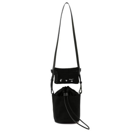 OFF-WHITE(オフ-ホワイト)c/oヴァージルアブロー キャンバスバケットバッグ