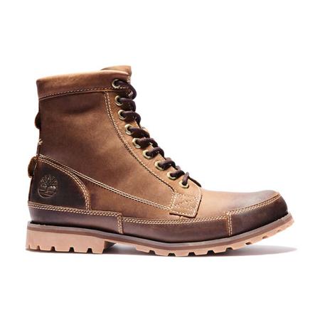Timberland Leather(ティンバーランド)革靴 メンズ アースキーパーズ オリジナル 6インチ ブーツ – レッドブラウン