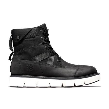 Timberland Leather(ティンバーランド)革靴 メンズ レイウッド EK+ 6インチ ウォータープルーフ ブーツ – ブラック