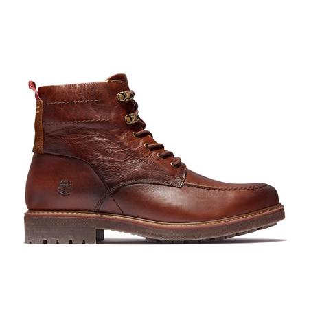 Timberland Leather(ティンバーランド)革靴 メンズ オークロック ウォータープルーフ ブーツ – ミディアムブラウン