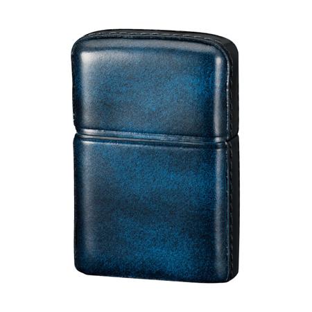 ZIPPO(ジッポー)革巻き アドバンティックレザー ブルー