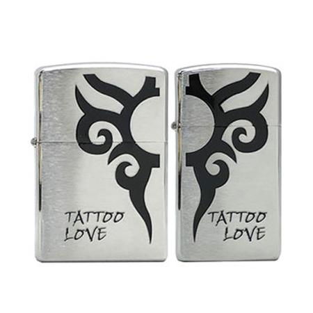 ZIPPO(ジッポー)ペアデザイン #22534/TATTOO LOVE ペア