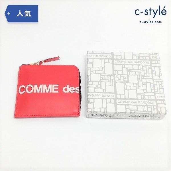 COMME des GARCONS コムデギャルソン GOD Wallet HUGE LOGO SA3100HL RED 財布 小銭入れ