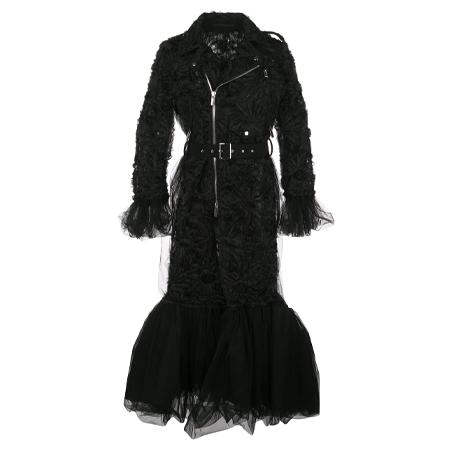 COMME des GARCONS noir(コムデギャルソンノアール) ライダース コート