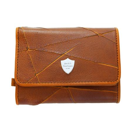 GARNI(ガルニ) Insection Three Fold Wallet – BROWN