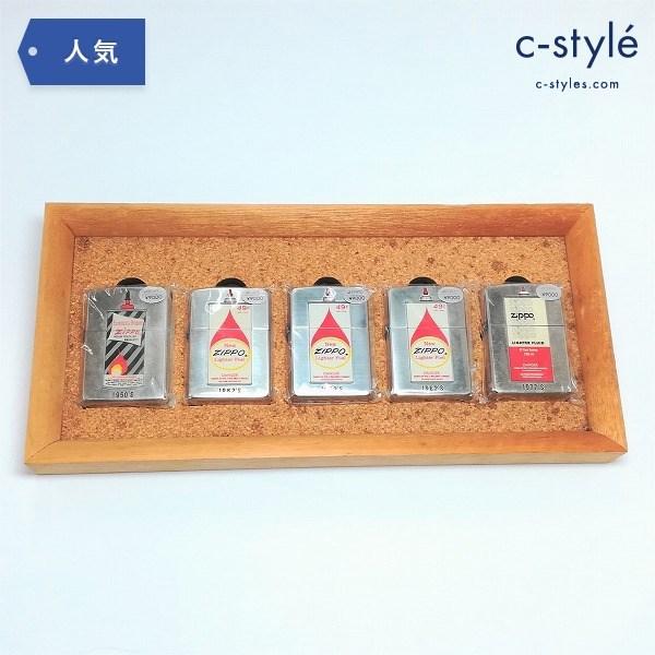 ZIPPO オイル缶シリーズ 木製ケース付 オイルライター ジッポー オイル缶柄 1950 1962 1977