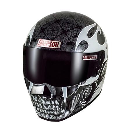 SIMPSON(シンプソン) 限定販売SUPER BANDIT 13 SKULLAPES(SSB13) SIMPSONヘルメット
