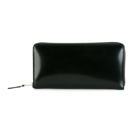 Wallet COMME des GARCONS(ウォレットコムデギャルソン) Glossy Black 長財布