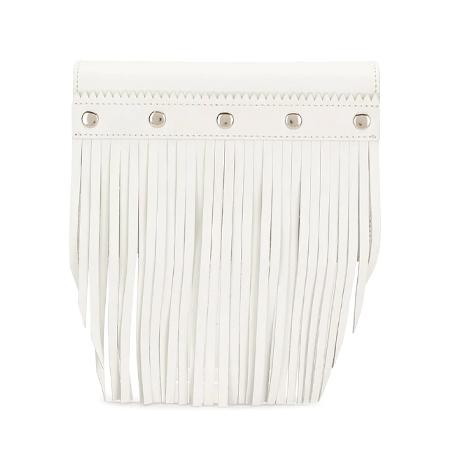 Wallet COMME des GARCONS(ウォレットコムデギャルソン) fringe-detail leather wallet