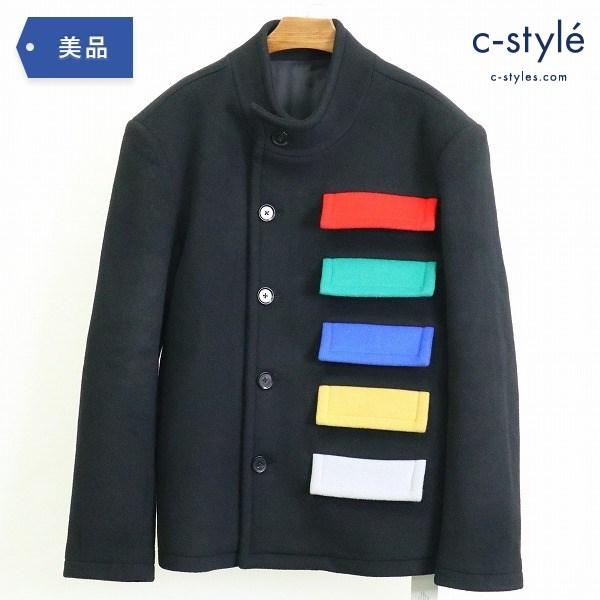 XANDER ZHOU ザンダーゾウ 19AW スタンドカラー コート size46 メニーポケット