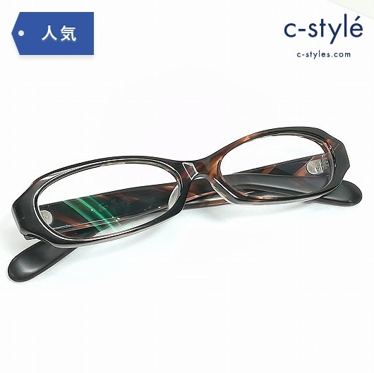正義作 T-621 メガネフレーム ブラウン 金子眼鏡 セルロイド ノー芯 7枚蝶番 ハンドメイド