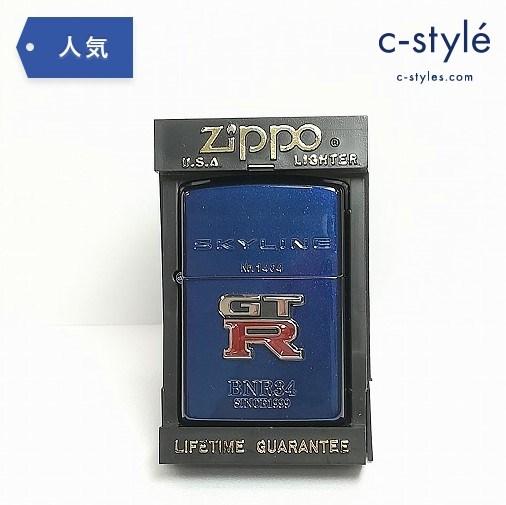 ZIPPO SKYLINE COLLECTION スカイライン GT-R BNR34 SINCE 1999 ミッドナイトジッポー