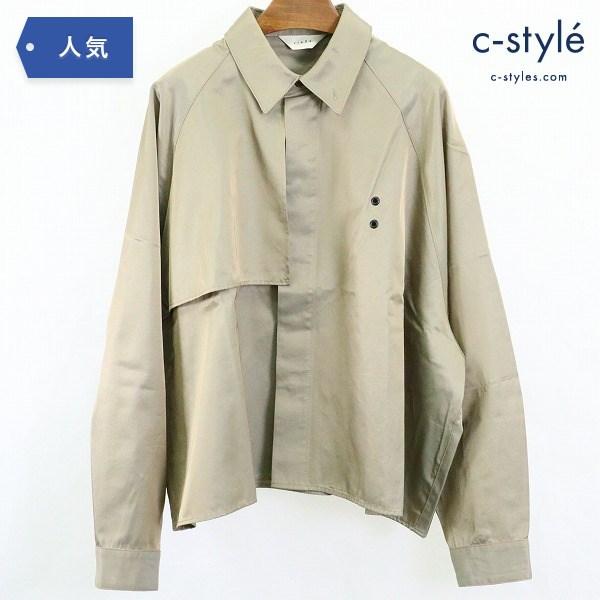 Jieda ジエダ 20SS トレンチ シャツ size2 オーバーサイズ ラグラン ベージュ