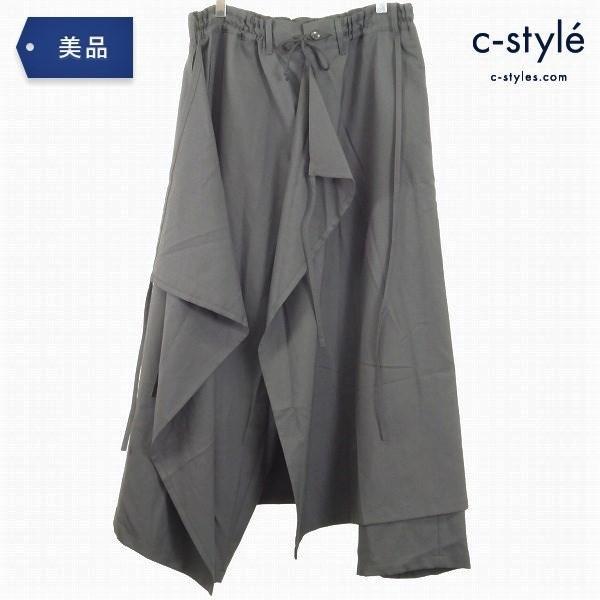 GroundY ヨウジヤマモト 3WAY スカート パンツ size3 ユニセックス ウール ポリ