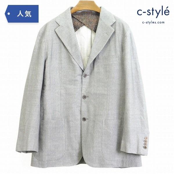Sartorio サルトリオ ウール100% テーラード ジャケット size52 背抜き 3B 本切羽 イタリア製