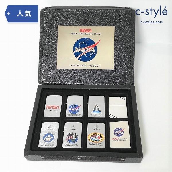 NASA ZIPPO ライター アメリカ航空宇宙局 記念 アニバーサリー Space Flight Emblem Series