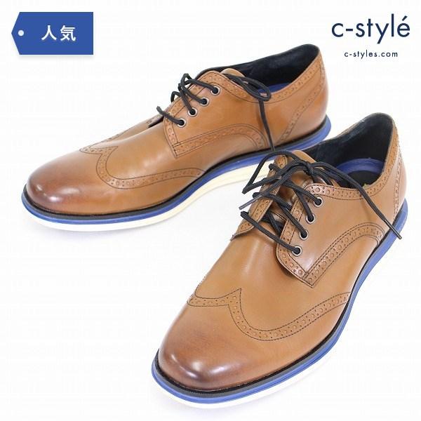 COLE HAAN グランド ウィングチップ オックスフォード ブローグ 12M レザー 革靴