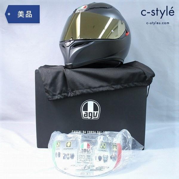 AGV K-5 S JIST SOLID MPLK フルフェイス ヘルメット XL ASIAN FIT + シールド 保護シート