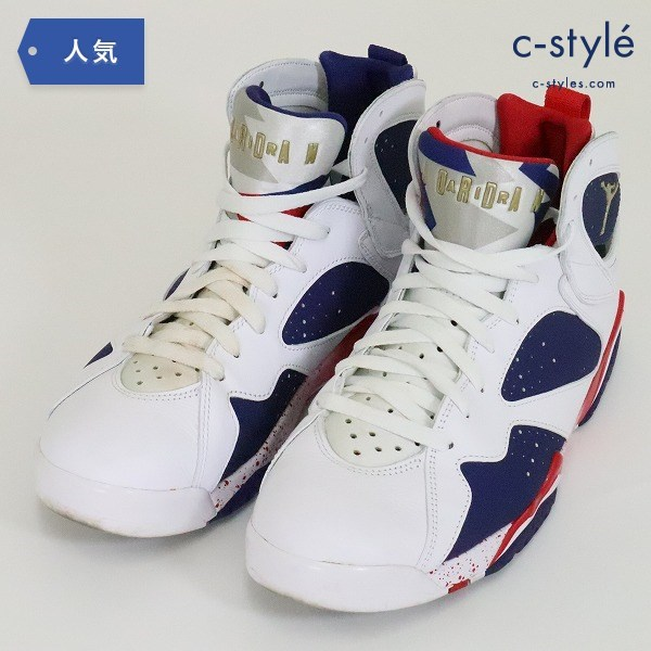 NIKE AIR JORDAN エアジョーダン 7 RETRO OLYMPIC ALTERNATE 28cm USA 代表カラー ティンカー
