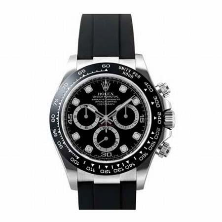 ROLEX(ロレックス) コスモグラフ デイトナ 116519LNG ブラック 8Pダイヤ