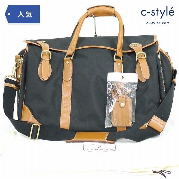 土屋鞄製造所 タブラ マスター ボストン バッグ 2WAY ショルダー ビジネス ブラック カバン