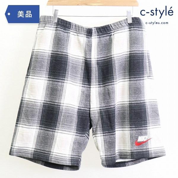 Supreme シュプリーム × NIKE ナイキ Plaid Sweat Short L ハーフ パンツ ショート ショーツ
