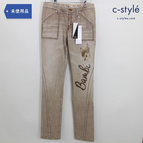 CASTELBAJAC × DISNEY 20AW バンビ レギンス パンツ size40 スキニー レディース