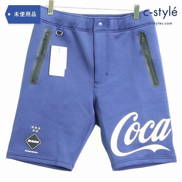F.C.Real Bristol エフシーレアルブリストル × Coca-Cola コカ・コーラ 20SS PDK SHORTS sizeS
