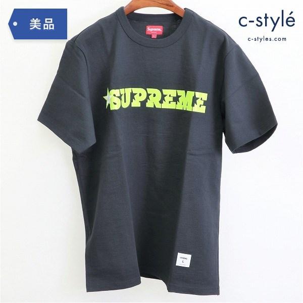 Supreme シュプリーム 20SS Star Logo スターロゴ Tシャツ sizeL 半袖 星 ブラック コットン