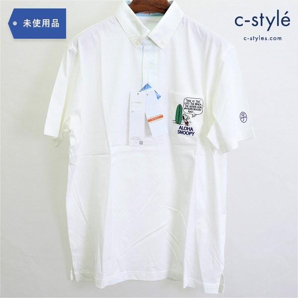 CASTELBAJAC × スヌーピー 半袖 ポロシャツ size48 コットン PEANUTS