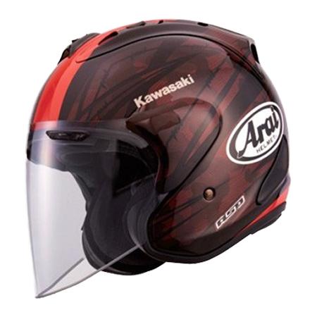 KAWASAKI(カワサキ) ジェットヘルメット SZ-RAM4ブラスト