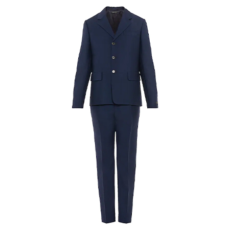 PRADA(プラダ) シングルブレスト ウールxモヘア スーツ