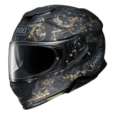 SHOEI(ショウエイ) GT-AirII CONJURE  ジーティーエアー2 コンジュール TC-9 GOLD/BLACK] ヘルメット