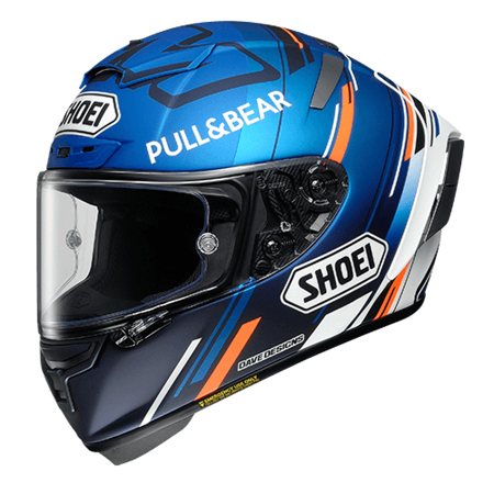 SHOEI(ショウエイ) X-Fourteen AM73 アレックス・マルケス選手の2020年シーズン仕様のレプリカモデル