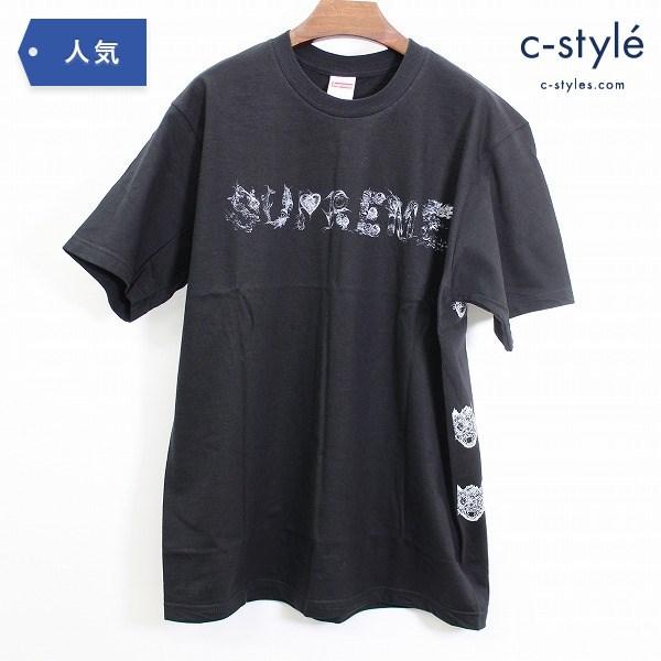 Supreme シュプリーム Morph モーフ Tシャツ サイズ M ブラック コットン プリント