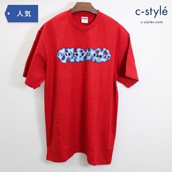 Supreme シュプリーム Everything is Shit Tシャツ Mサイズ レッドコットン プリント