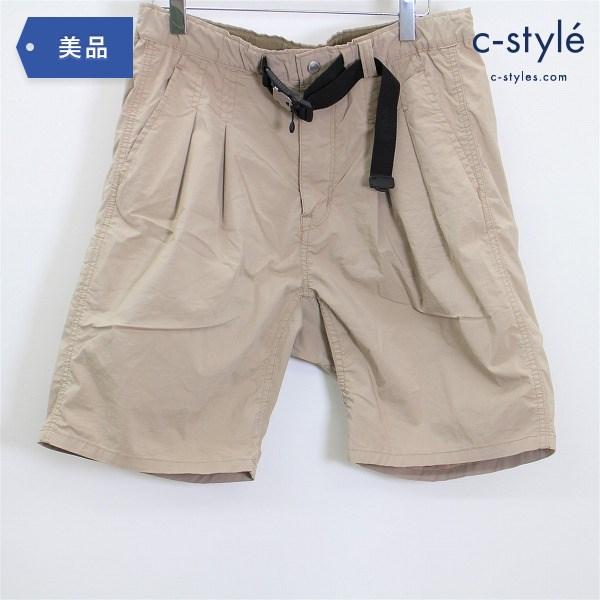 nonnative ノンネイティブ 日本製 20SS イージー ショート パンツ size1 FIDLOCK バックル付き