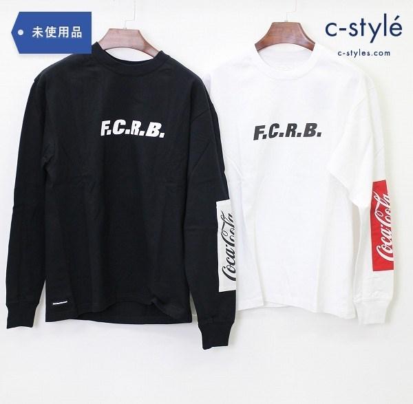 F.C.Real Bristol × コカ・コーラ ロンT Sサイズ 2点 長袖 Tシャツ トレーナー 黒 白