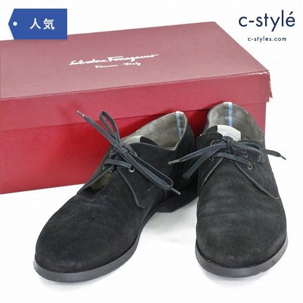 Salvatore Ferragamo サルヴァトーレ フェラガモ スウェード レザー size9 革靴 イタリア製