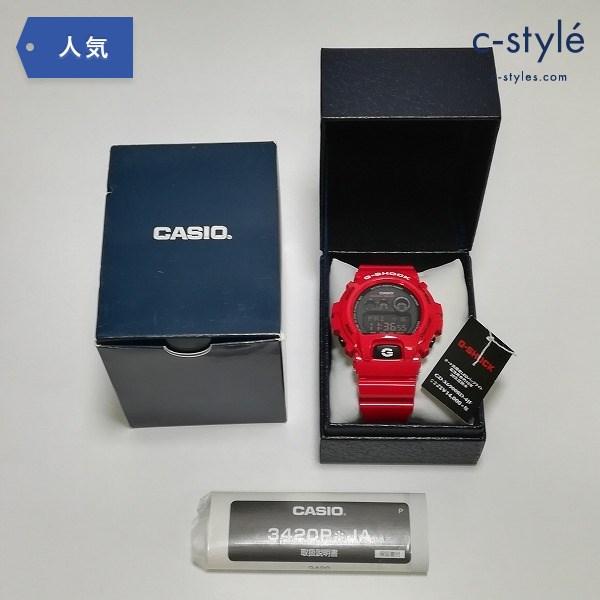 G-SHOCK ジーショック GD-X6900RD-4JF レッド 腕時計