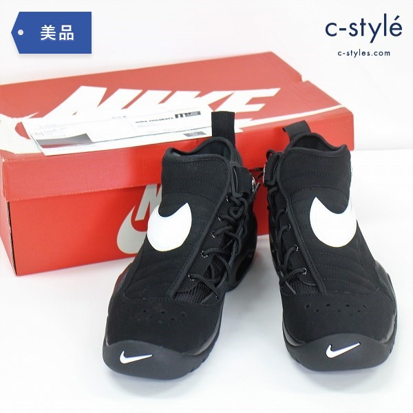NIKE ナイキ AIR SHAKE NDESTRUKT LIMITED EDITION?for NONFUTURE 27.5cm シューズ ブラック