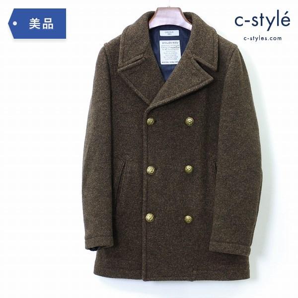CIRCOLO 1901 チルコロ ピーコート size44 ウール ブラウン ショート ジャケット