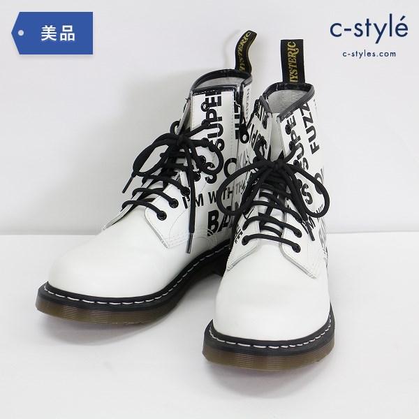 ヒステリックグラマー レースアップ バウンシングソール レザー ブーツ 28cm 靴