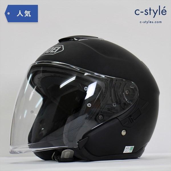 SHOEI ショウエイ J-Cruise クルーズ ジェット ヘルメット M 57cm マットブラック バイク 二輪 2017年製