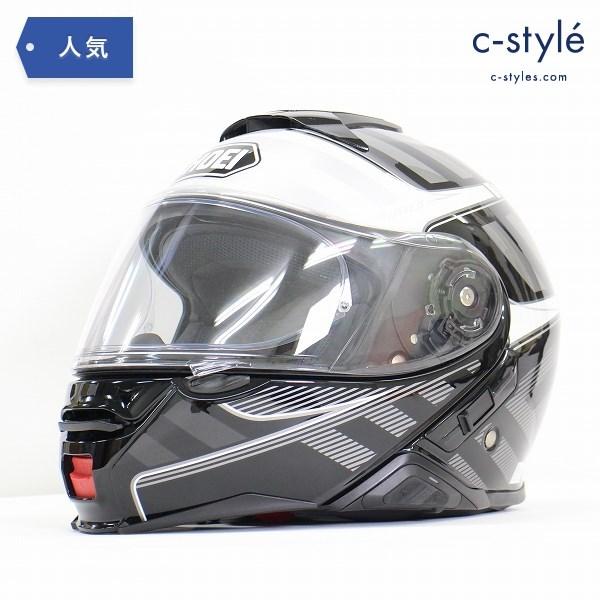 SHOEI ショウエイ NEOTEC Ⅱ ネオテック SENA SRL2 システム ヘルメット M 57cm ブラック