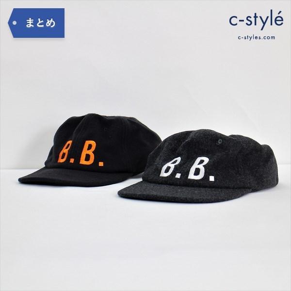 Brooks Brothers ブルックス ブラザーズ キャップ X/XL 2点 ベースボール ウール ナイロン