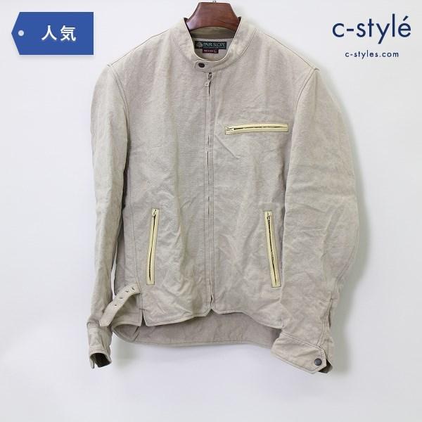 PAIR SLOPE ペアスロープ 麻100% ジャケット Lサイズ シングル ライダース 春夏 日本製
