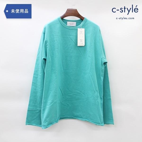 UNUSED アンユーズド ロングスリーブ Tシャツ size 3 コットン グリーン 日本製